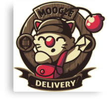 Moogle Delivery Canvas Print
