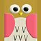 Cute Retro Kawaii Owl cartoons - iPhone 5, iphone 4 4s, iPhone 3Gs, iPod Touch 4g case by www. pointsalestore.com