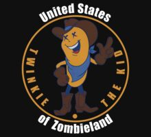 Twinkie the Kid United States of Zombieland shirt by BrBa