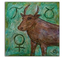 Taurus ~ Zodiac by Clint Smith