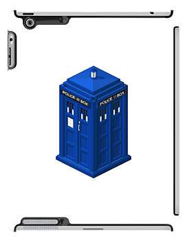 Tardis in pixel by hunekune