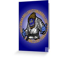 Mandrill To Win Greeting Card