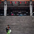 Boy on the Stairs by Yincinerate
