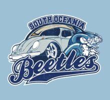 South Oceania Beetles - Volkswagen tee shirt by KombiNation