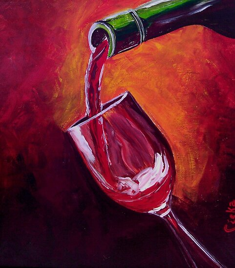 Taste of Wine by Ciska
