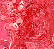 Abstract - My ice cream melted by Mike  Savad