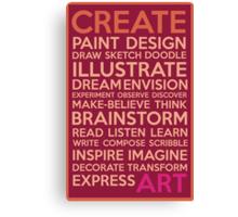 Create-Berry Canvas Print