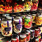 Jars full of sweet treats by Roxy J