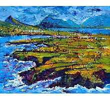 View from Clogher Head Photographic Print