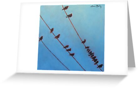 Birds, Wires 10 by eolai