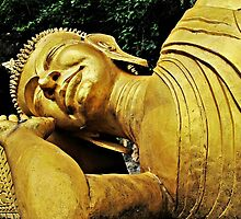 Let Sleeping Buddha Lie © by Ethna Gillespie