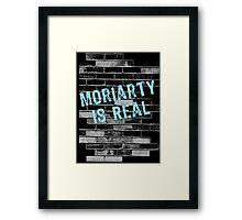 Moriarty is Real Graffiti  Framed Print
