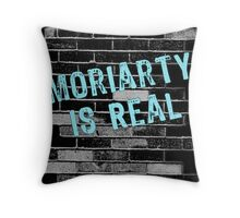 Moriarty is Real Graffiti  Throw Pillow