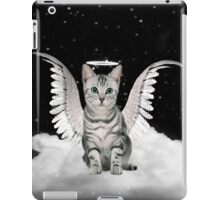 Tabby Angel Cat iPad Case/Skin