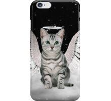 Tabby Angel Cat iPhone Case/Skin