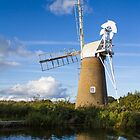 Windmill on Norfolk Broads by ChrisChallenger