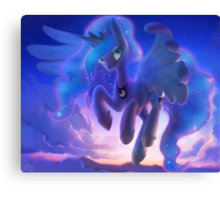 Princess Luna in the Sky Canvas Print