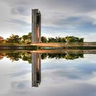 Which Way Up National Carillon Canberra by Kym Bradley