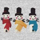 We Three Snowmen. by jackfords