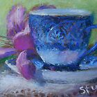 Blue Coffee Cup  by js1231