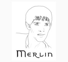 Merlin Stencil Sticker by carrieclarke