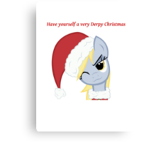 Have yourself a very Derpy christmas Canvas Print