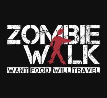 Zombie Walk (white) by glassCurtain