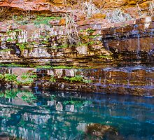 Circular Pool, Karijini National Park by Splatt75
