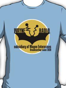 Batman - Wayne Radio T-Shirt