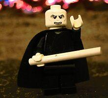 LEGO Voldemort Among Flames by ArtShopEtc