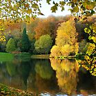 Stourhead Lake and temple by Gary Heald LRPS
