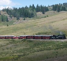 Scenic New Mexico by steam train by nealbarnett