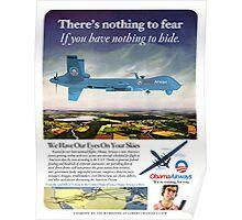 Obama Airways Drone Parody Poster Poster