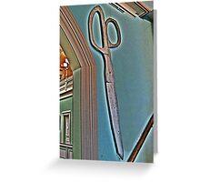 Scissors Anyone? Greeting Card