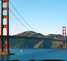 Golden Gate Bridge Art by photoartful
