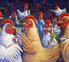Hen Party by © Cindy Schnackel