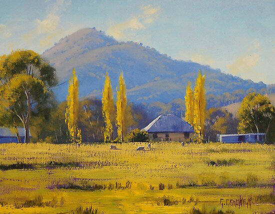Quot Autumn In Tumut Nsw Quot By Graham Gercken Redbubble