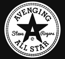 Avenging All Star (White) Kids Clothes