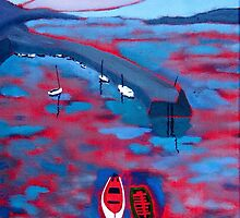 Roundstone Harbour, Galway by eolai