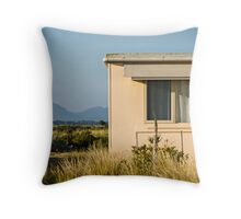 Fibro-cement home with a view Throw Pillow