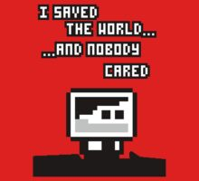 I saved the world T-Shirt