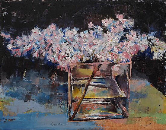 Lilacs by Michael Creese