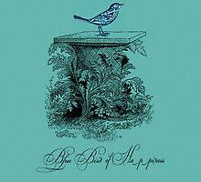Blue Bird of Happiness by venitakidwai1