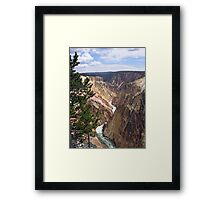 Colorful Canyon Framed Print