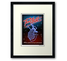 Footless Framed Print