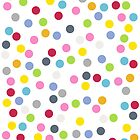 Multicolored Polka Dots by itsjensworld