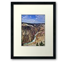 Canyon of Dreams Framed Print