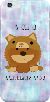 LLAMARMY LION!! (iPhone Case) by Kati9508