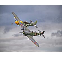 The Old Flying Company -  Ferocious Frankie, And MH434 Photographic Print