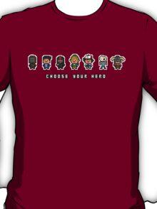 """Choose Your Hero"" - Arrangement Number 2 T-Shirt"